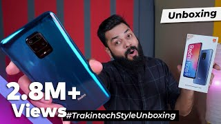 Redmi Note 9 Pro Unboxing And First Impressions ⚡⚡⚡Huge Display,Huge Battery, SD 720G-NavIC And More