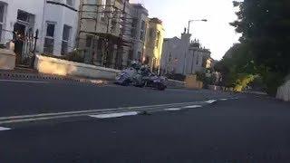 28.05.18 ISLE OF MAN TT Sidecar's Practice | lezayre Road, Ramsey  | Live Footage pt1