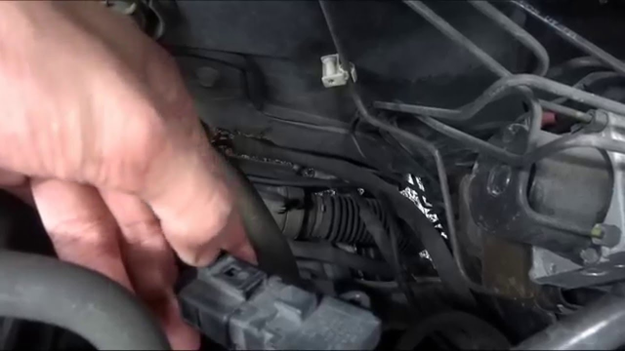 Vw Polo Map Sensor Replacement Youtube Sr 71 Engine Diagram