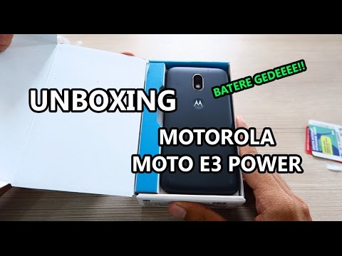 Moto E3 Power Indonesia Unboxing & Review Kesan Awal