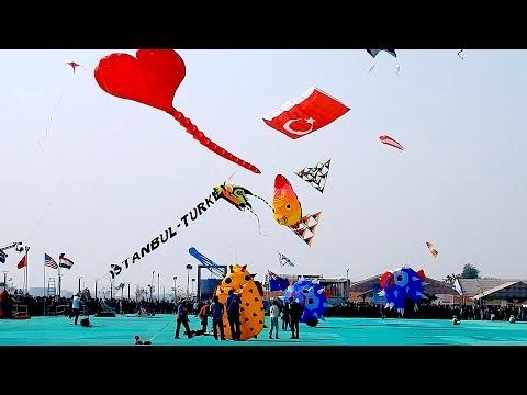 International Kite Festival 2019 - Ahmedabad, Gujarat | Food Zone | Craft Stall | Culture Show