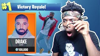 *NEW* DRAKE CHALLENGE in Fortnite: Battle Royale! (Scorpion Glitch?)