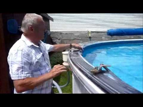 Aerateursp le syst me d 39 a ration de piscine hors sol youtube - Toit de piscine hors sol ...