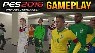 PES 2016 | FULL GAMEPLAY | Brazil vs Germany | (PC/PS4/XONE)