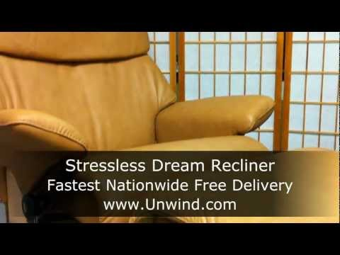 stressless magic by ekornes brandy leather free in ho doovi. Black Bedroom Furniture Sets. Home Design Ideas