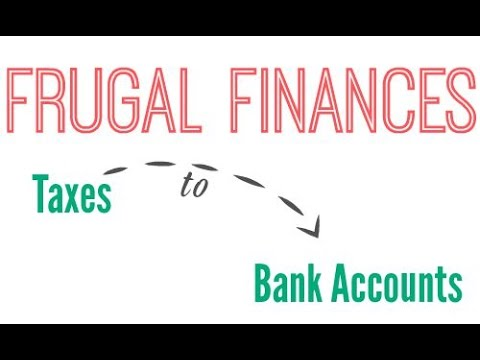 Frugal Finances: Bank Accounts to Taxes + Live Q&A
