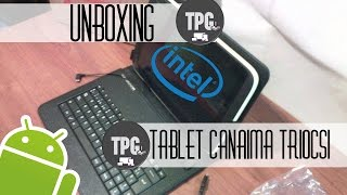 Unboxing Tablet Canaima TR10CS1 Android 4.4.2