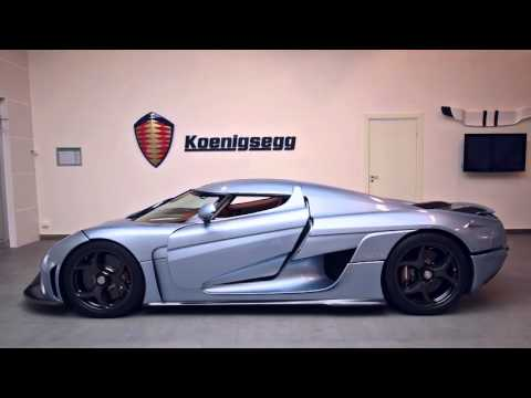 Check Out the Koenigsegg Regera's Transformers-Style Robotic Body Panels