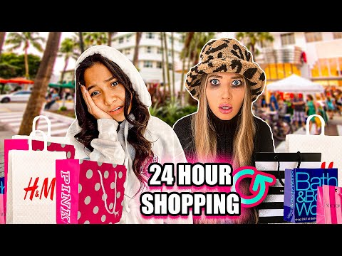 24 Hour SHOPPiNG CHALLENGE with NayVee! *NO MONEY LiMIT!!