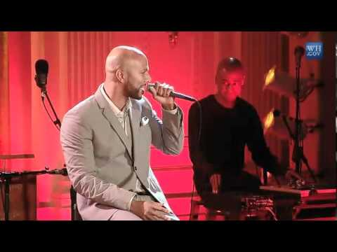 Common Performs Poetry at the White House