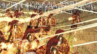 300 SPARTA VS 3000 EASTERN ARCHERS - MASSIVE BATTLE TOTAL WAR ROME 2 (CINEMATIC)