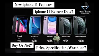 Gambar cover New iphone 2019 | Apple | iphone 11 | iphone 11 features | iphone xi Release Date