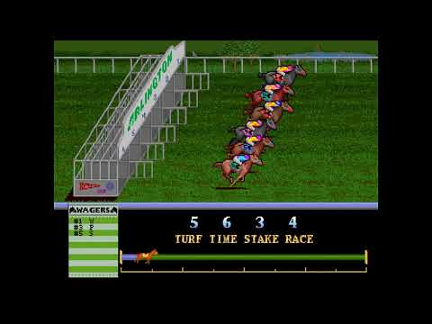 Arlington Horse Racing. Arcade Game (1990). How To Lose 100 Credits In 6 Minutes!