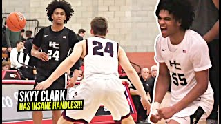 Skyy Clark Has INSANE Handles & Pull Up Game!! Young LEADER Full Sophomore Season Highlights!