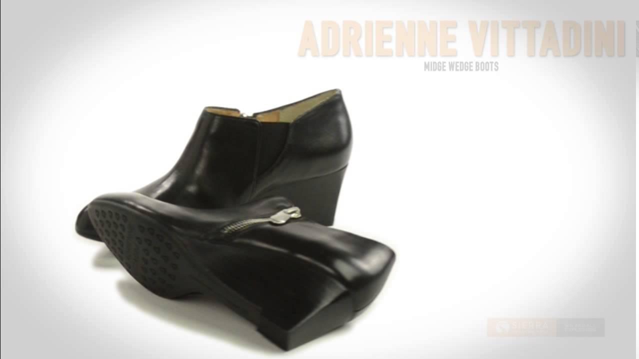 Adrienne Vittadini Midge Wedge Boots