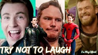 Marvel Cast Hilarious Bloopers and Gag Reel - Avengers Infin...