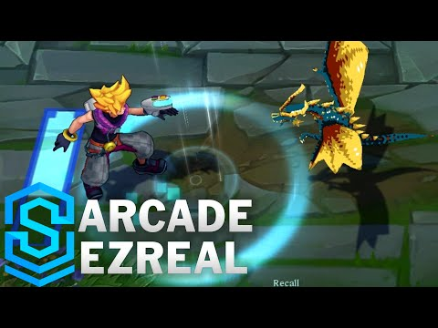 Arcade Ezreal Skin Spotlight - League of Legends