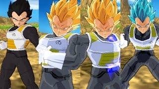 Vegeta Fukkatsu no F - All Forms + Download   Dragon Ball Z Budokai Tenkaichi 3 Version Latino
