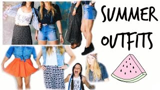 Summer Outfits ☼ | BeautybyBlaire Thumbnail