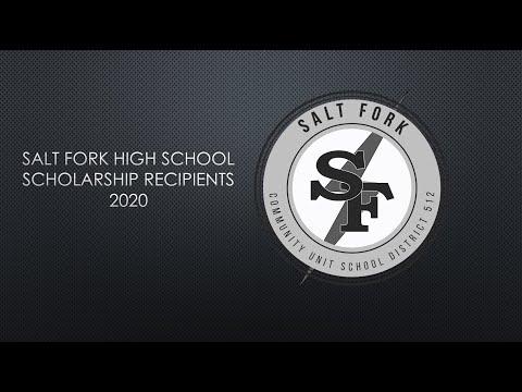 2020 Scholars   Salt Fork High School
