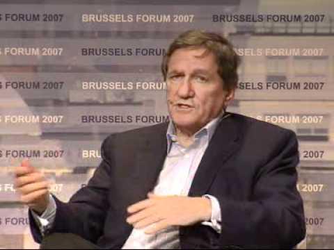 Amb. Richard C. Holbrooke Robert Zoellick discuss the 2008 U.S. Presidential elections