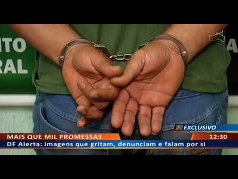 DF ALERTA - Ex-servidor do GDF é procurado por tráfico e homicídio