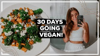 I Tried Going VEGAN for 30 Days... Here's What Happened! | Morgan Yates