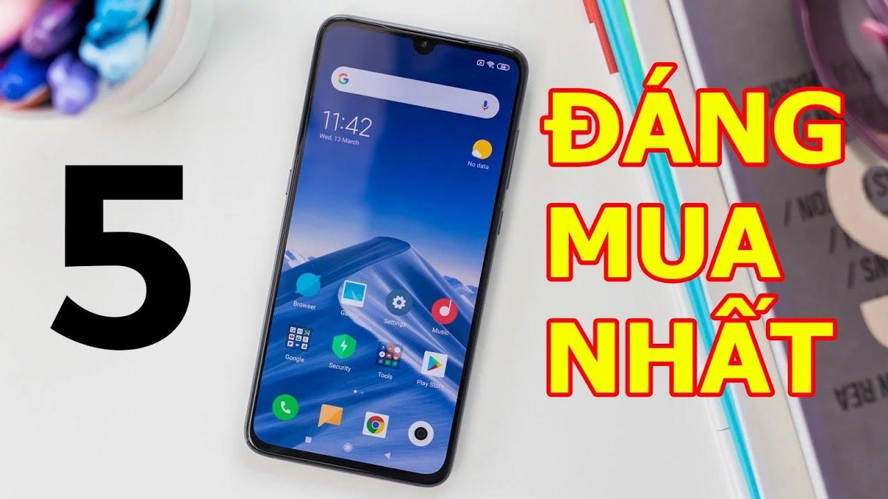 5 điện thoại Xiaomi bán chạy nhất hiện nay!
