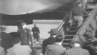 1st Air Force One: Eisenhower Leaves For Paris, MATS Terminal, Washington, DC, 01/06/1951 (full)
