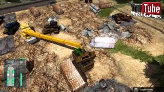 Construction Machines Simulator 2016#6 Dźwig oraz rozmowy o Adumie