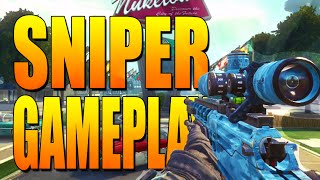 Call of Duty: Black Ops 2 Sniper FFA Gameplay on Meltdown - Call of Duty BO2 Multiplayer Gameplay