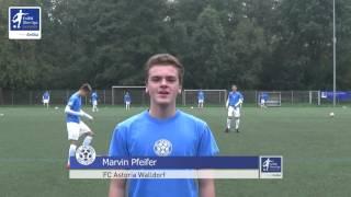 EnBW-Oberliga C-Junioren: Marvin Pfeifer (FC Astoria Walldorf)