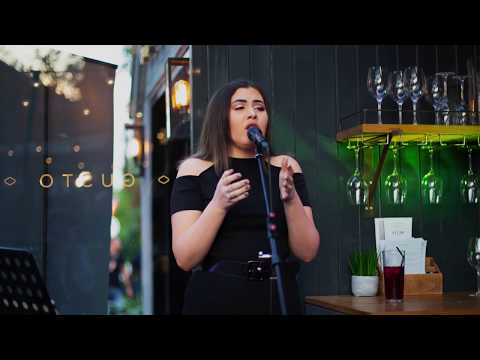 EvieM live cover of I Cant Make You Love Me by Bonnie Raitt