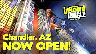 Indoor Playground Ribbon Cutting Chandler AZ | UPTOWN JUNGLE