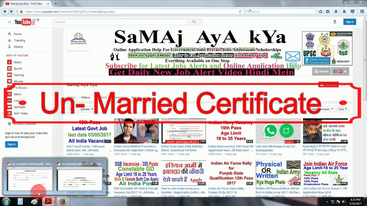 Un married certificate format indian army download pdf filling un married certificate format indian army download pdf filling procss yelopaper Gallery