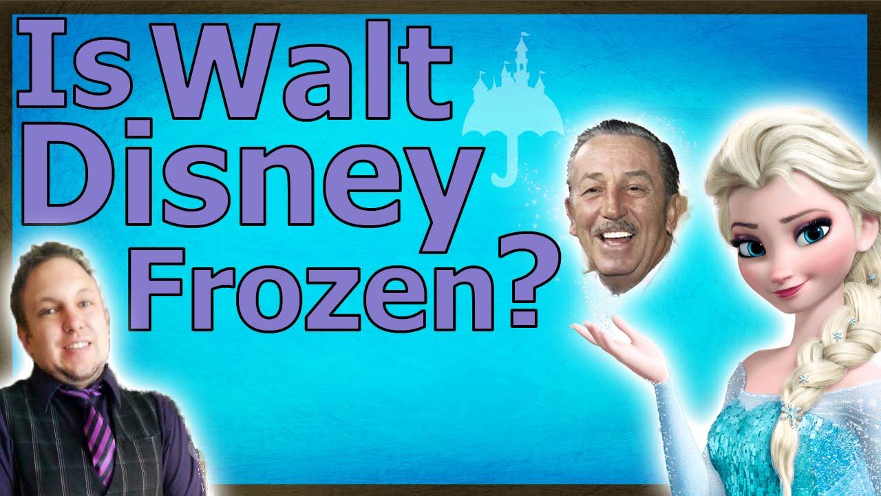 Is Walt Disney Frozen? - YouTube