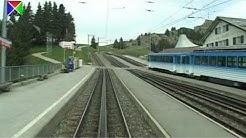 Führerstandsmitfahrt auf der Vitznau-Rigi-Bahn von Vitznau nach Rigi Kulm
