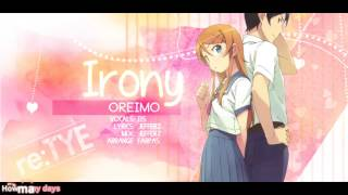 34 Irony 34 English Oreimo Op1 Feat Eis