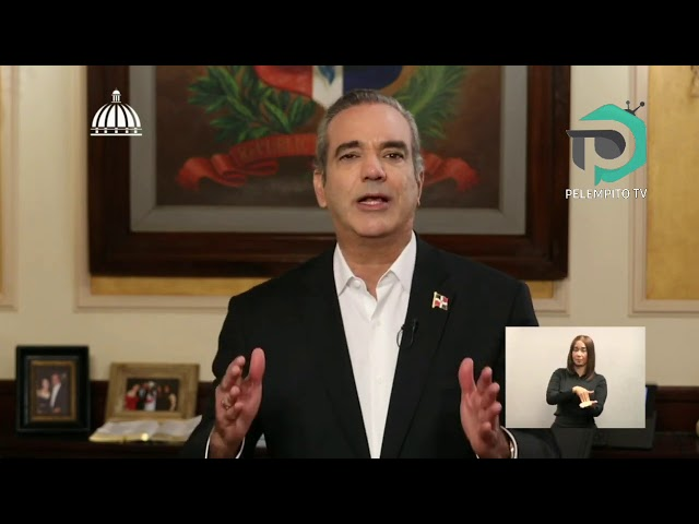 El discurso del presidente Luis Abinader a un mes de tomar el poder