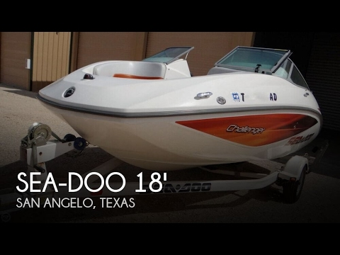SOLD Used 2006 Sea Doo Challenger 180 In San Angelo Texas
