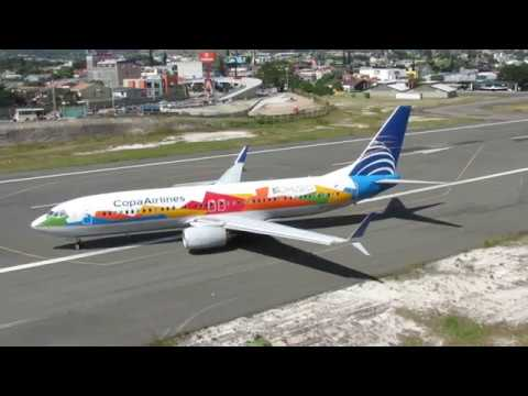 Boeing 737-800 Copa Arlines Bio museo