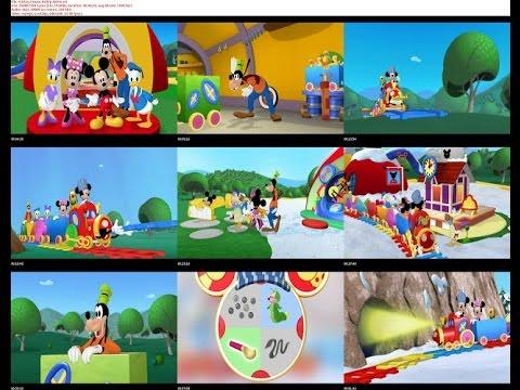 La casa de mickey mouse la exhibici n de mo os de invi - La mickey danza ...