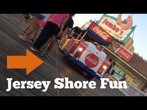 Jersey Shore Fun, Willwood NJ Boardwalk, and Beach