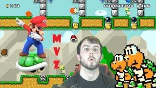 To Clutch A Fail - Super Mario Maker - Mario Vs Z