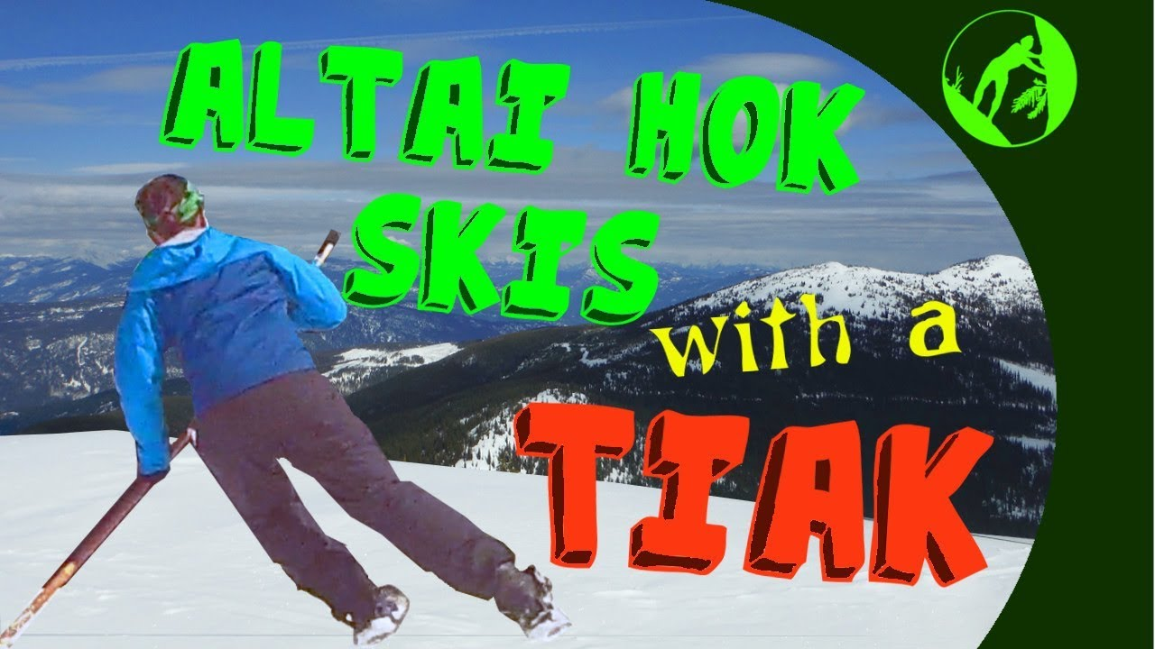 Learning to Use a Tiak (1 pole system) with Altai Hok Skis + Grassy Hut  Overnighter