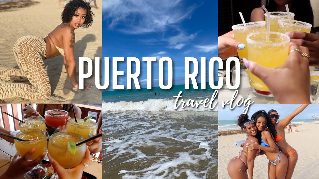 PUERTO RICO VLOG 🍹   2021 Quarantine Travel Vlog