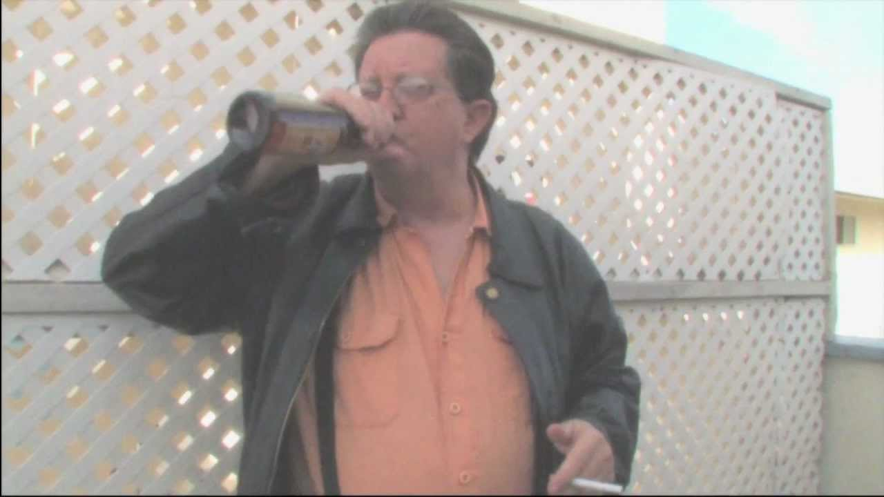 Drinking beer and smoking cigarettes for