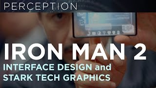 IRON MAN 2 - GRAPHICS AND USER INTERFACE MONTAGE PERCEPTION NYC
