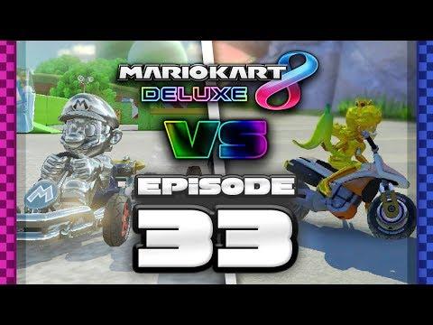 TWIT DEAFEN Mario Kart 8 Deluxe Online Team Races - Ep 33 w/ TheKingNappy + Friends!
