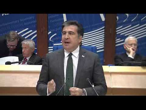 PACE Winter Session 2013: Address by Georgian President Mikheil Saakashvili